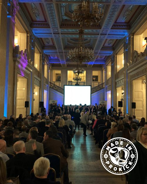 The scene was set for the Urban Villages awards at the Grand Hall Stormont