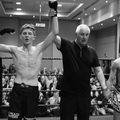 K-1 Style match 3x2 - 54kg - both age 15 - Jay Snodden (WINNER POINTS) (Dundonald, NI) Vs Antreas Roujogenis (Cyprus)