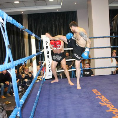 Johnny Smith Spinning Kick Swift Smith with Cypriot Periklis