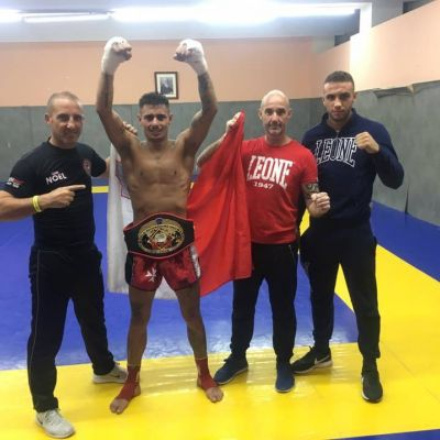Keith Azzopardi was the only fighter to beat the French - France 7 wins rest of Europe 1 win