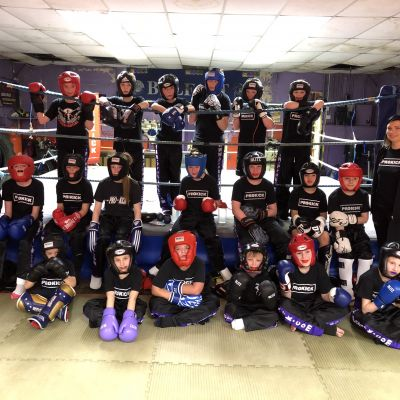 Kids Sparring class Friday 1st Dec 2017