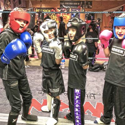 New Kids Sparring class Jan 12th 2018