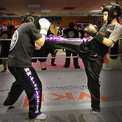 Kickboxing kids at ProKick