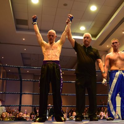 And the new - WKN Celtic Nations Full-Contact champion is....Matthew Kerr Belfast, NI