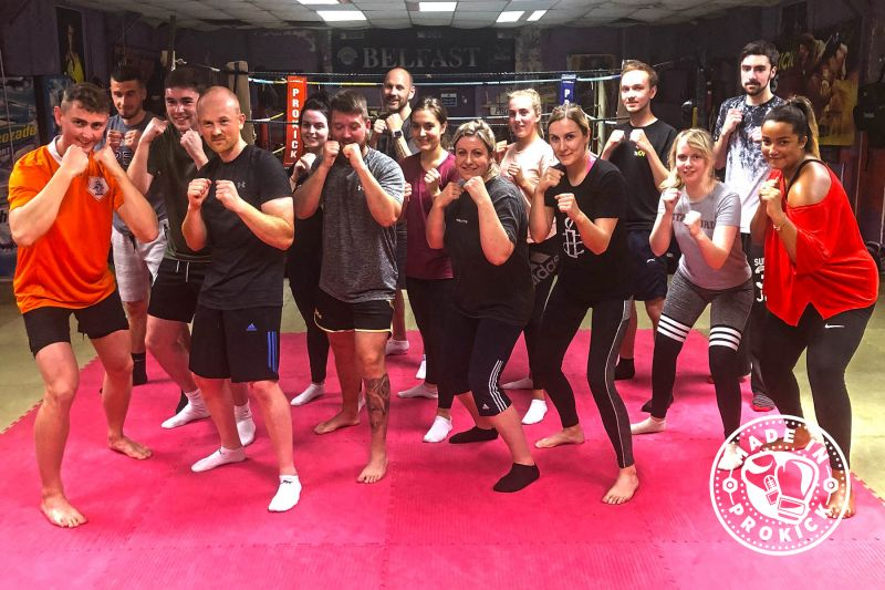 another new 6-week beginner' course kicked off at 8:15 pm May 23rd, 2019. This was the ninth new 6-week course to start at the #ProKickGym this year.