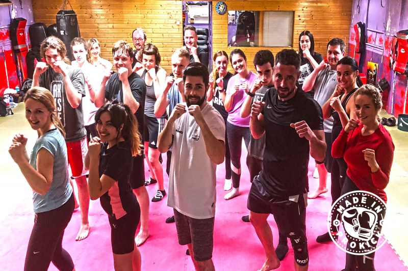 Here's another new beginners 6-week course at 8:15pm on Thursday March 28th 2019 - this was the sixth new 6-week course to start at the #ProKickGym this year.