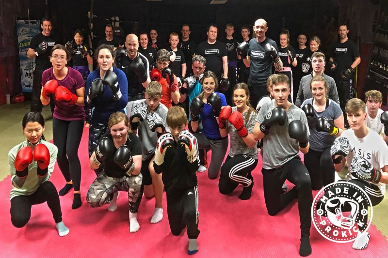 The class were put through a tough basic pad session on Thursday 7th March 2019. Find out what happens next >>>>>>>​