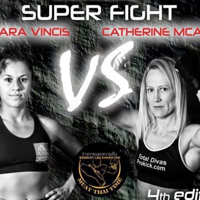 Vincis Vs McAleer 19th November in Genoa, Italy