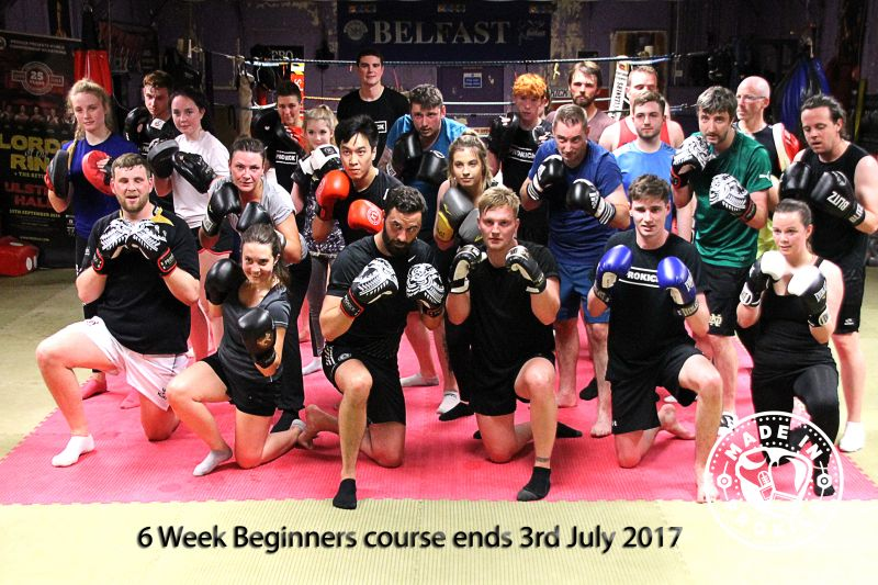 A ProKick 6 week course ends July 3rd