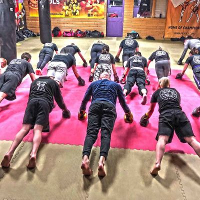 First Bootcamp of  2018 - Push Ups at Billy's Bootcamp JAN 8th