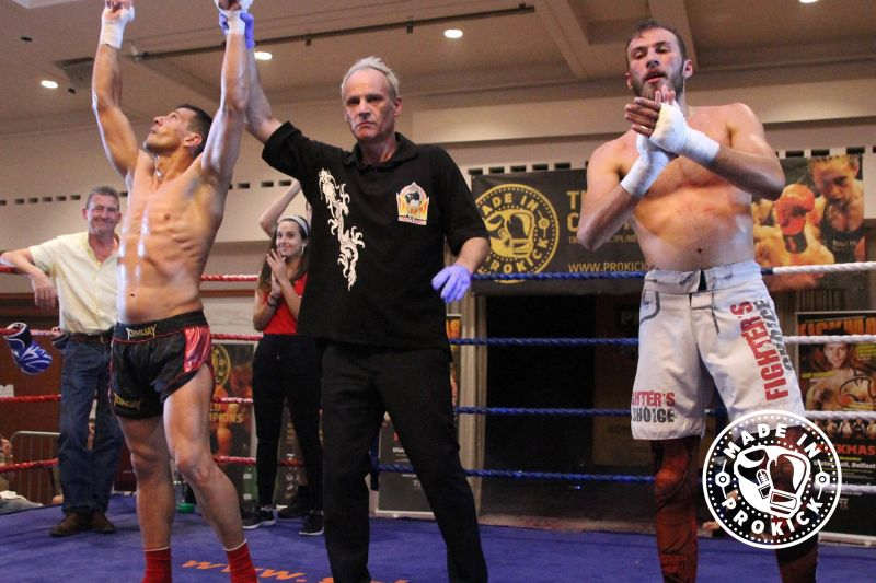 Rafa Del Toro Wins - The Semi main event with Rafa Del-Toro (Gran Canaria) and Stefanos Stamatiou (Cyprus) lived up to the billing as fight fans were treated to a masterclass in kickboxing.