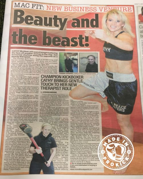 Sunday World talk to Mac-Fit