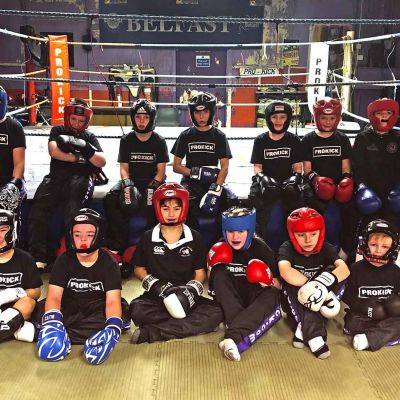 Sixth Week Last Kids Sparring 2017