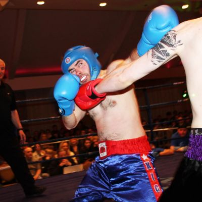 Take that Said Scott, Cameron Scott Belfast ProKick gym faced Konrad Baranski from Dublin's FightClub