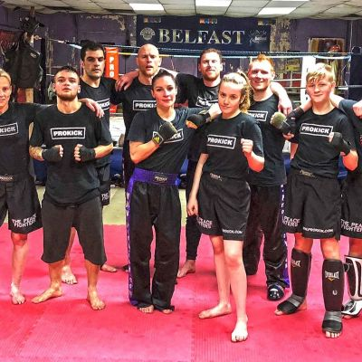 The final final ProKick training Session at the ProKick gym