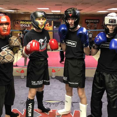 Four teenagers from The ProKick Gym will go through the ropes at the Stormont Hotel