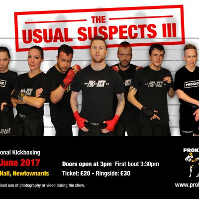 Usual Suspects 3 Fight-card