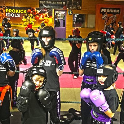 It was the third Week of the new ProKick Kid Sparring class