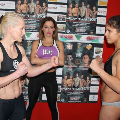 Weigh-Ins Cathy McAleer Vs Luca Cuccu Vincis