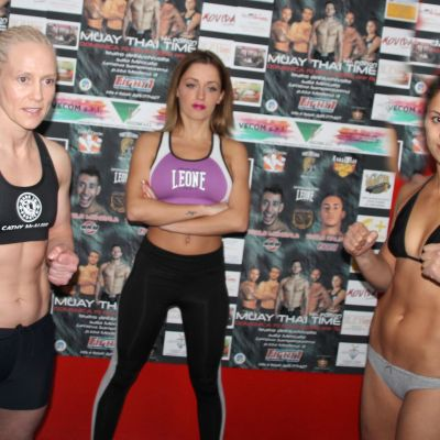 Weigh Ins Genova - Cathy McAleer Vs Luca Cuccu Vincis