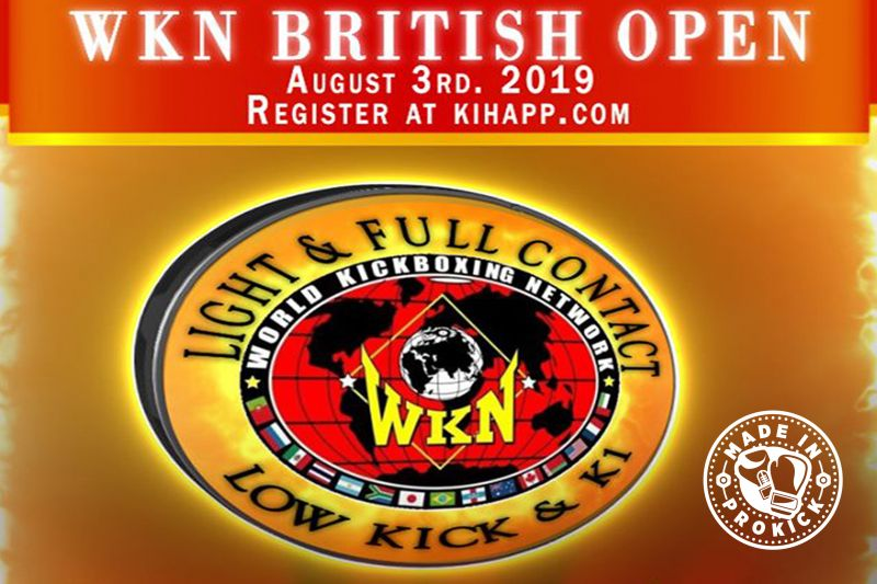 The inaugural WKN British amateur Open will take place on the 3rd August 2019. The event is promoted by Mr Albert Ross & team at the Fraserburgh Fitness Centre
