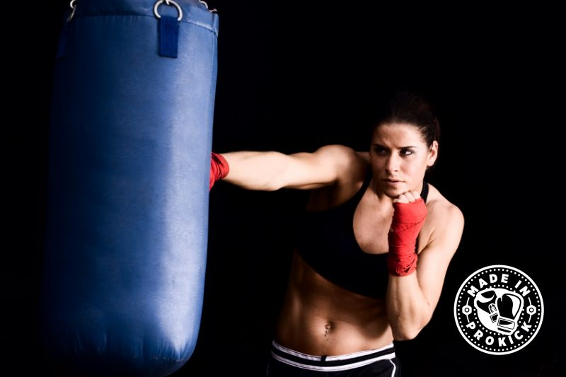 Join us for a new beginners course set for Tuesday 31st July @ 7.45pm. ProKick Girl training on the punching bag